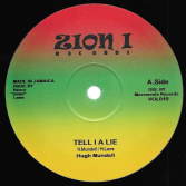 Hugh Mundell - Tell I A Lie  / Jah Music (Zion I) 12""